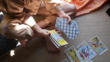 """""""The cards never lie, and they never let me lie."""""""