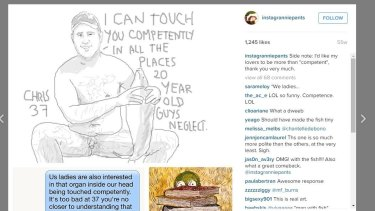 Anna Gensler draws pictures of men who objectify her on dating services.