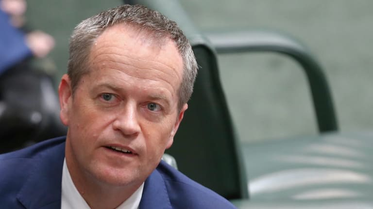 Manager of Opposition Business Tony Burke, pictured with Labor leader Bill Shorten, said that since Mr Turnbull had made that claim  Labor would take him at his word.