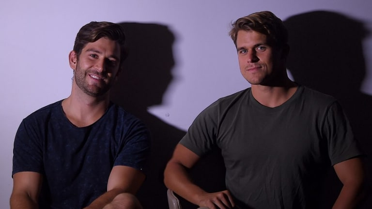 Perx co-founders Hugo Rourke (left) and Scott Taylor (right).