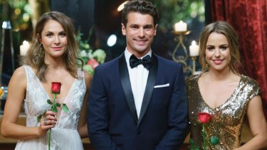 Matty J had to choose between Laura and Elise in the finale of The Bachelor.
