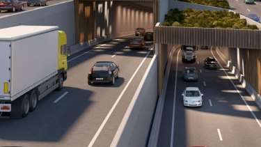 The final stage of WestConnex will include 7.5-kilometre-long twin tunnels.