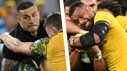 Sonny Bill v Kerevi: All Black says he's ready to stop freight train
