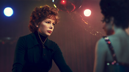 Finding her feet: Michelle Williams steps into Gwen Verdon's shoes