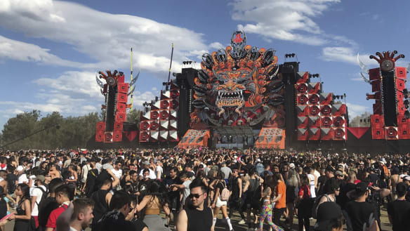 Before Defqon.1, another exiled festival moved to Canberra