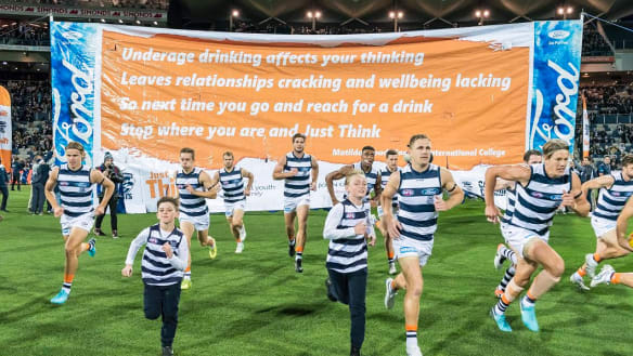 How this footy club went beyond taking photos with sick kids