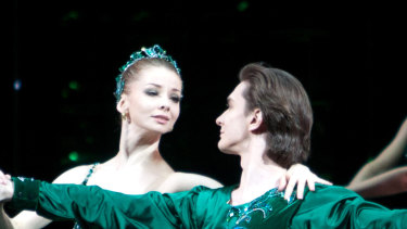 Emeralds, Jewels, Bolshoi Ballet