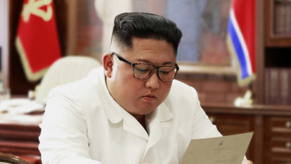 North Korea's Kim receives 'excellent letter' from Trump, state media says