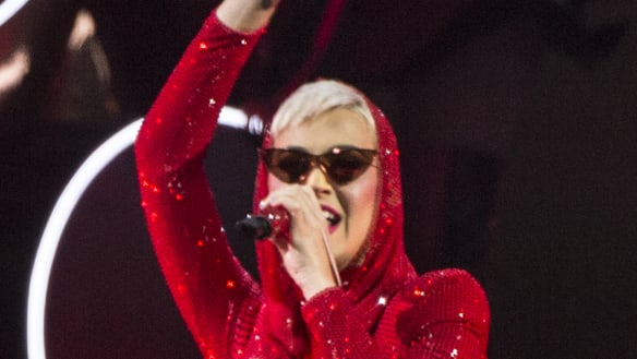 Why Katy Perry and co sing for their supper in Sydney