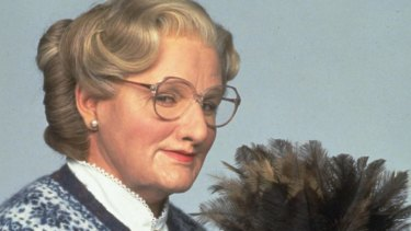 Mrs Doubtfire set the standard for nannies.