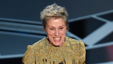 In accepting her Oscar for Three Billboards Outside Ebbing, Missouri, Frances McDormand  called for an inclusion rider on films.