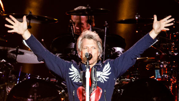 Bon Jovi shows Brisbane that Tommy and Gina's story is far from over