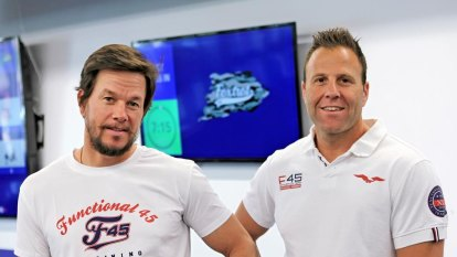 Marky Mark to get hands-on with the F45 bunch