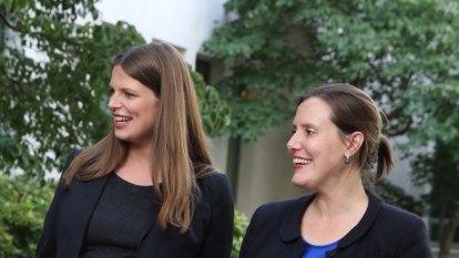 Last mum standing: Labor MP Amanda Rishworth's Parliament-life balance