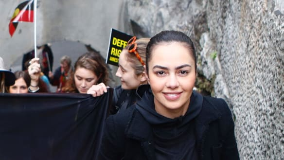 """""""There's a few things you could do for the Indigenous people, like show that Aboriginal culture is alive in Australia,"""" says activist Cheree Toka.."""