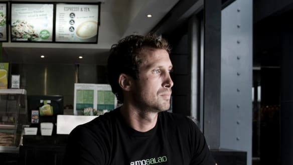 'Keep fighting': Luke Baylis on taking back control of Sumo Salad