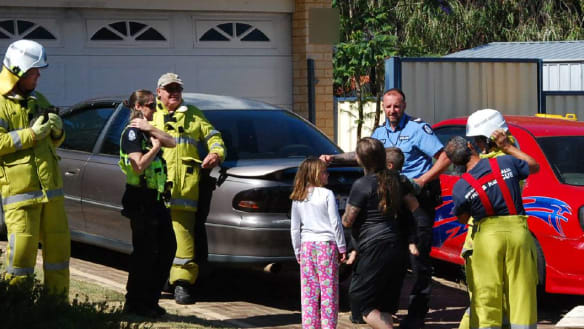WA woman recalls frantic fight to save wife, son in Mandurah house fire