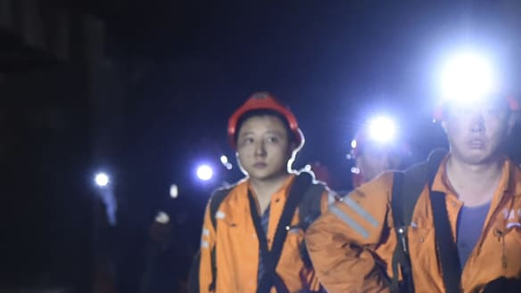 Fatal coal mine collapse in China