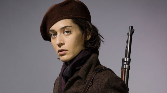 For Lizzy Caplan, playing a resistance fighter was a case of the Boot fits