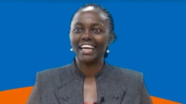 Lucy Gichuhi, who will take the Senate spot vacated by Bob Day, will sit as an independent.