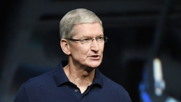 Apple CEO Tim Cook: outspoken about US law.