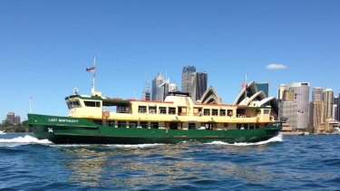 The Lady Northcott has been plying Sydney Harbour for 42 years.