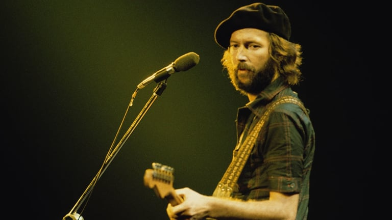 Eric Clapton, from the documentary <i>Eric Clapton: A Life in 12 Bars.</i>