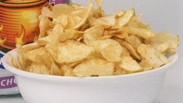 Potato chips have olestra added.