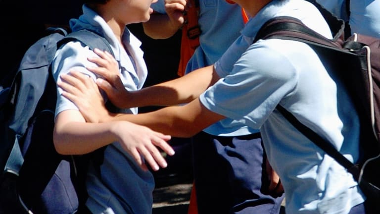 A study by University of South Australia academics has found that 20 per cent of school-aged children regularly experienced bullying in 2015.
