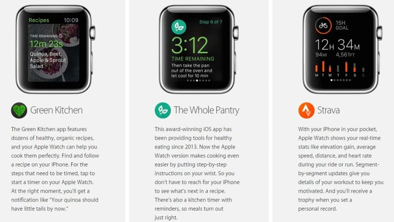 """The Whole Pantry app was included on the """"coming soon"""" Apple Watch list but has since been pulled."""