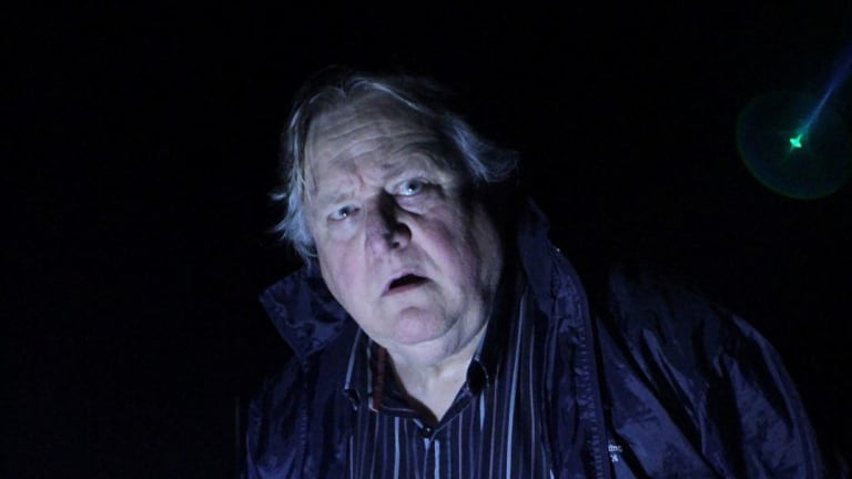 Richard Moss plays night watchman Tony Matthews  in Ghost Stories.
