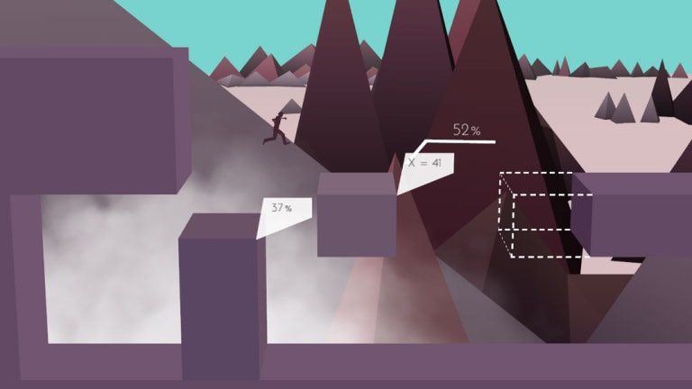 So much data. Making jumps by the numbers in <i>Metrico</i>.