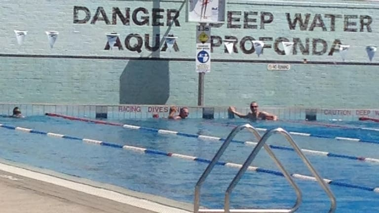 There was an effort to close the pool and turn the area over to apartment developers.