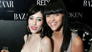 Back in the day: Ruby and Jess in 2008.