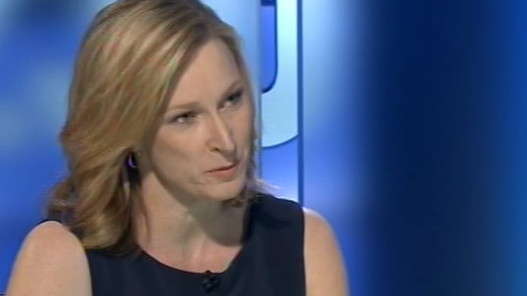 """Leigh Sales asked the PM if it was """"tricky"""" to campaign on the government's record."""