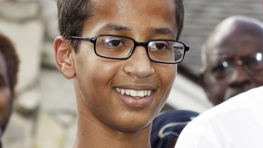 Ahmed Mohamed was arrested when a teacher mistook his homemade clock for a bomb.