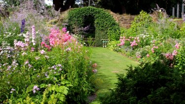 The farm is known for its beautiful gardens.