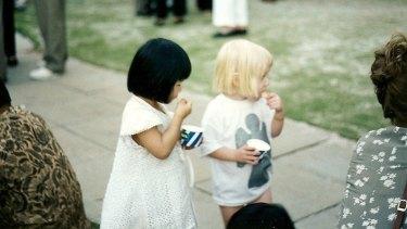 Alina and Johanna still share a love of icecream.