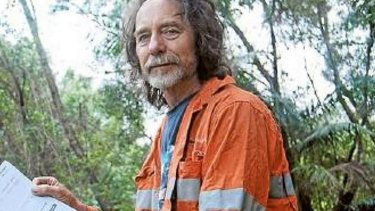 """Howard Furner, pictured in 2013, is suing the founder of the Australian Anti-Paedophile Party for implying he is a """"sinister and very effective paedophile""""."""
