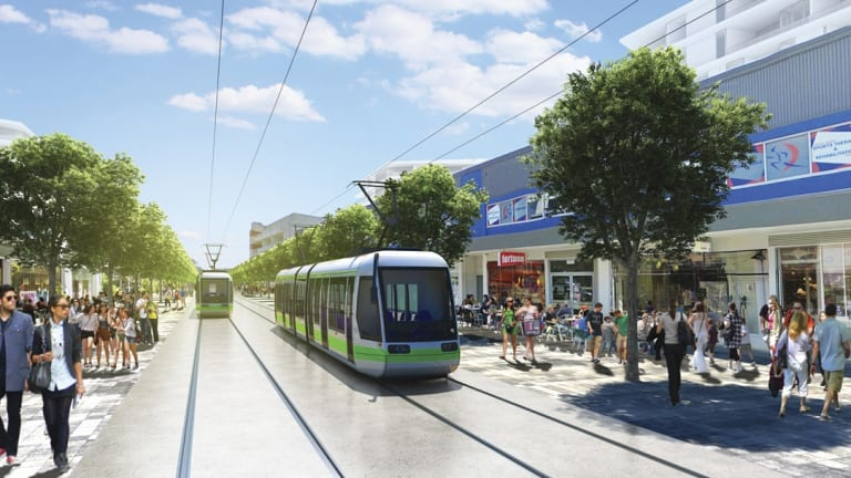 As similar projects in North America found, light rail in Canberra should generate a corridor of urban redevelopment.