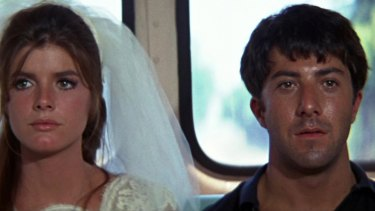 A scene from <aif>The Graduate<aif>.