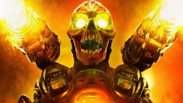 Doom costs about $80 from Steam, owned by Valve Corporation.