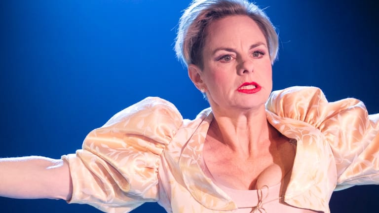 Rebecca Massey brings impeccable comic timing to her role.