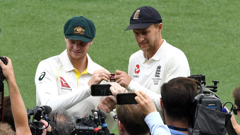 The Ashes could be decided in Perth.
