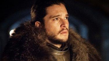 In the dark: Kit Harington as Jon Snow in <i>Game of Thrones</i>.