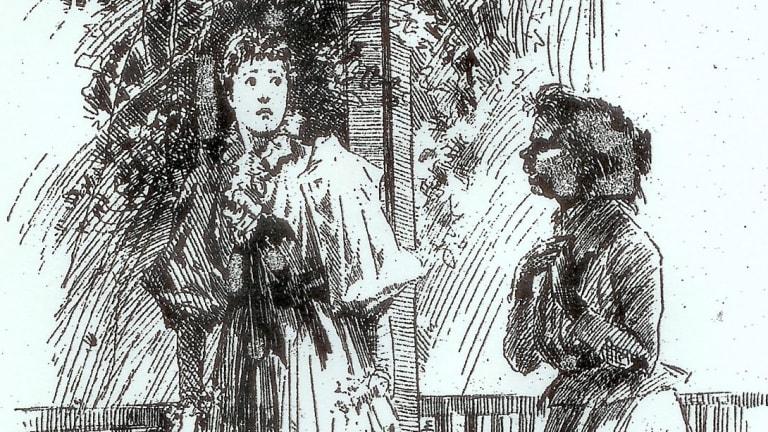 Cartoon: The Black Predecessor, The Bulletin, 1894. Courtesy: National Library of Australia.