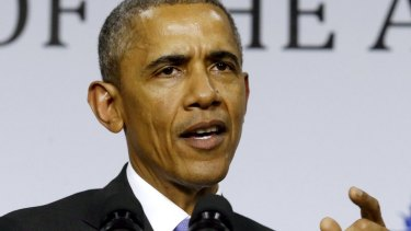 US President Barack Obama warns of China's intentions to fill any gap left open if Trans-Pacific Partnership fails.