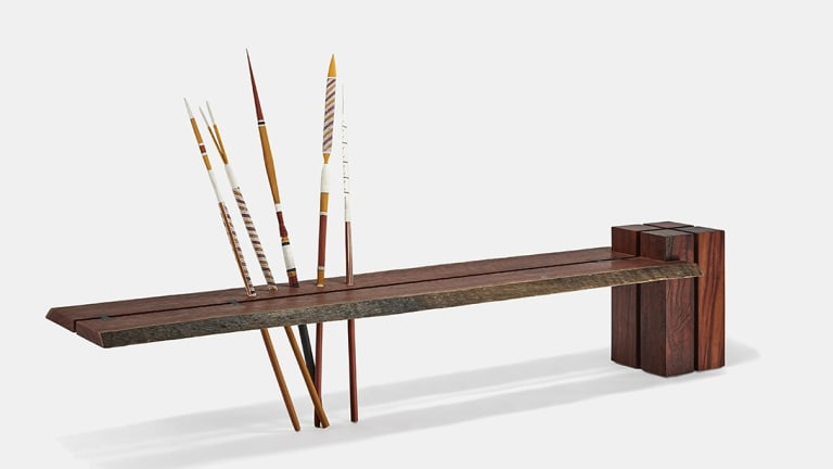 """""""It's about two cultures coming together,"""" says Jon Mikulic of the Art Bench."""