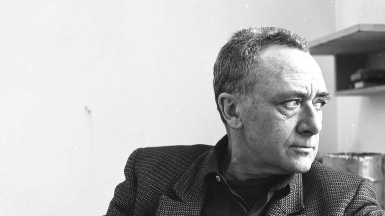 Portrait of Gerhard Richter in 1993.