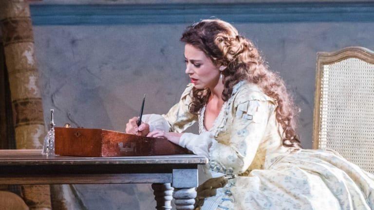 Corinne Winters plays a woman torn between love and duty in <I>La Traviata</I>.